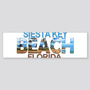 Summer siesta key- florida Bumper Sticker