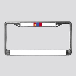 Mongolia License Plate Frame