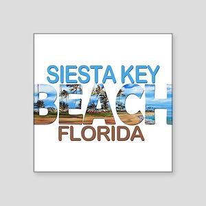 Summer siesta key- florida Sticker