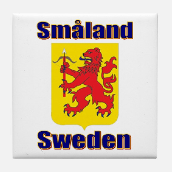 The Småland Store Tile Coaster