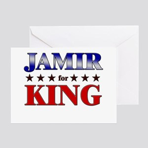 JAMIR for king Greeting Card