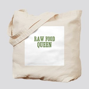 Raw Food Queen Tote Bag