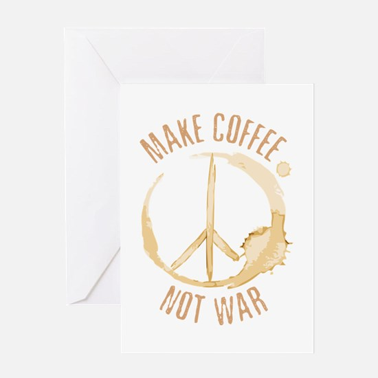 Make Coffee Greeting Card