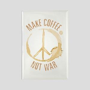 Make Coffee Rectangle Magnet