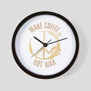 Make Coffee Wall Clock