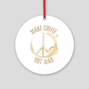 Make Coffee Ornament (Round)