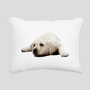 So Sad Lab Rectangular Canvas Pillow