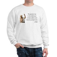 Socrates 4 Sweatshirt