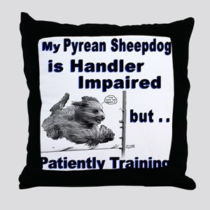 Pyrean Sheepdog Throw Pillow