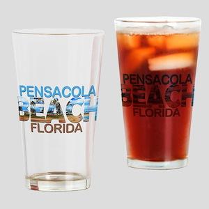 Summer pensacola- florida Drinking Glass