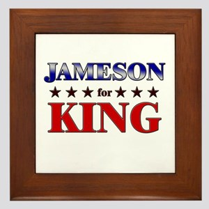 JAMESON for king Framed Tile