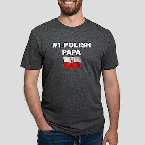 #1 Polish Papa T-Shirt