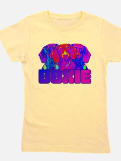 Op Art Doxie T-Shirt