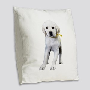 The Tilted Lab Burlap Throw Pillow