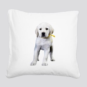 The Tilted Lab Square Canvas Pillow