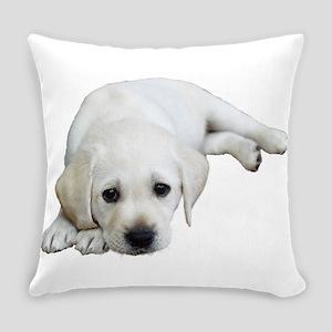 Sulking Lab Everyday Pillow