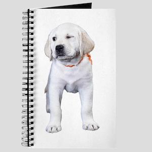 Winking Lab Puppy Journal