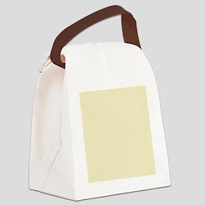 pastel cream beige yellow Canvas Lunch Bag