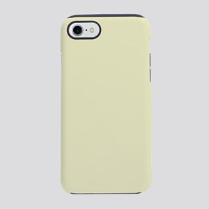 pastel cream beige yellow iPhone 8/7 Tough Case