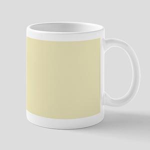 pastel cream beige yellow Mugs