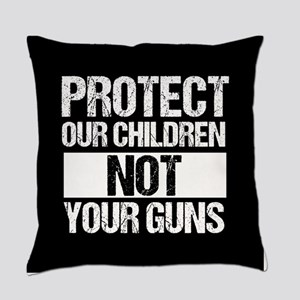Protect Kids Not Guns Everyday Pillow