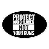 Anti gun Stickers