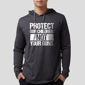 Protect Kids Not Guns Mens Hooded Shirt