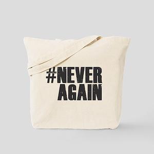 #NEVER AGAIN Tote Bag