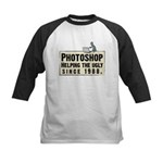 Photoshop - Helping the Ugly Kids Baseball Jersey
