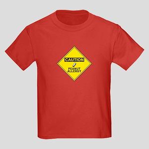 Peanut Allergy Kids Dark T-Shirt
