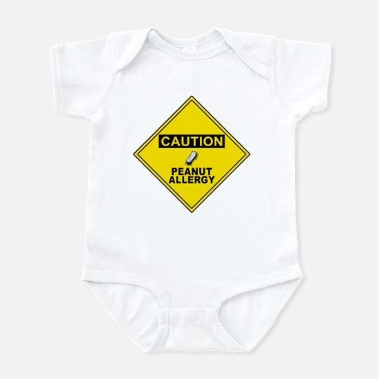 Peanut Allergy Infant Bodysuit