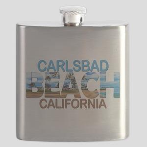 Summer carlsbad state- california Flask