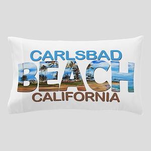 Summer carlsbad state- california Pillow Case