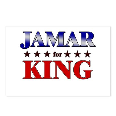 JAMAR for king Postcards (Package of 8)