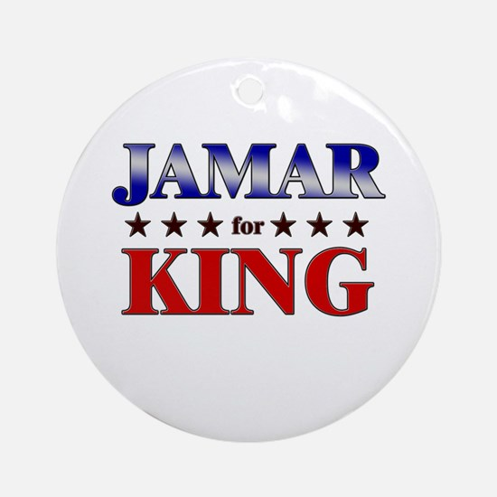 JAMAR for king Ornament (Round)