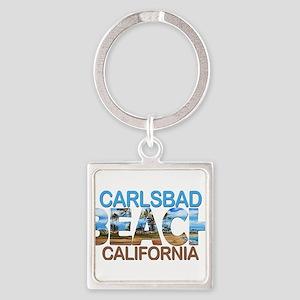Summer carlsbad state- california Keychains
