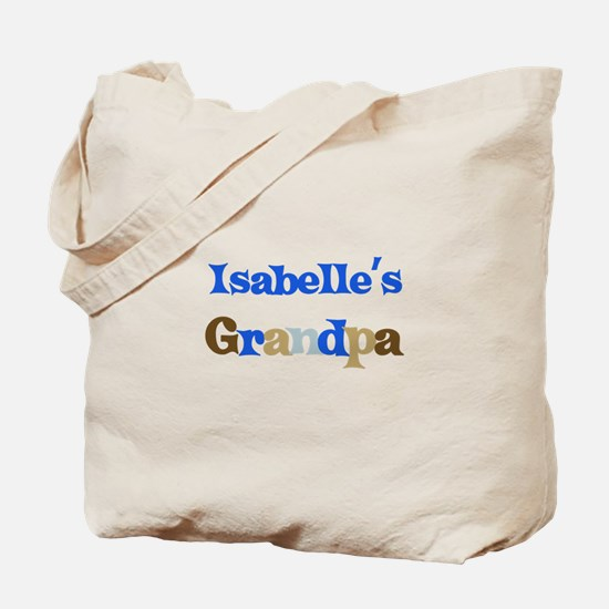 Isabelle's Grandpa Tote Bag