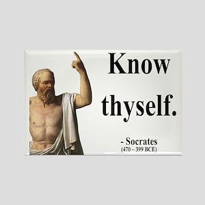 Socrates 8 Rectangle Magnet