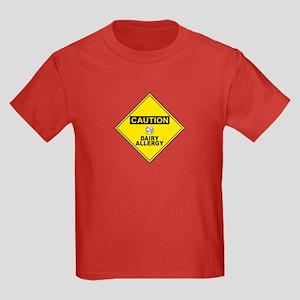 DAIRY ALLERGY Kids Dark T-Shirt