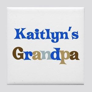 Kaitlyn's Grandpa Tile Coaster