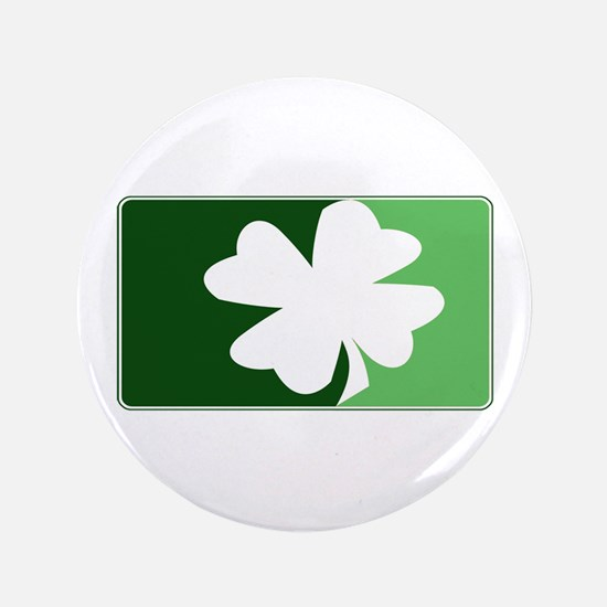 "Major League Irish (Green) 3.5"" Button"
