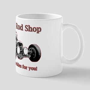 rat rod front4 Mugs