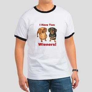 Two Wieners Ringer T