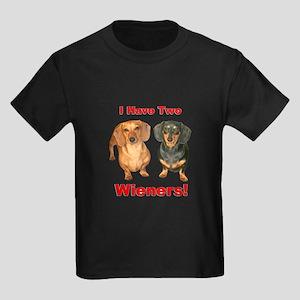 Two Wieners Kids Dark T-Shirt
