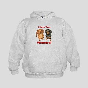 Two Wieners Kids Hoodie