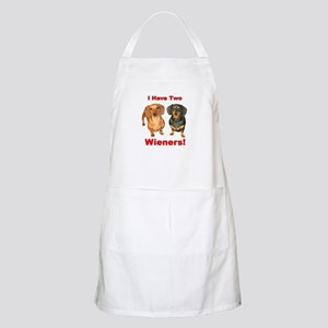 Two Wieners BBQ Apron
