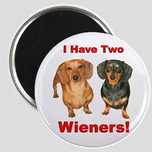 Two Wieners Magnet