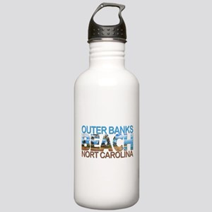 Summer outer banks- No Stainless Water Bottle 1.0L