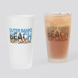 Summer outer banks- North Carolina Drinking Glass