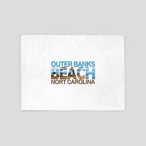 Summer outer banks- North Carolina 5'x7'Area Rug